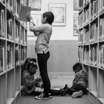 Kids in the library