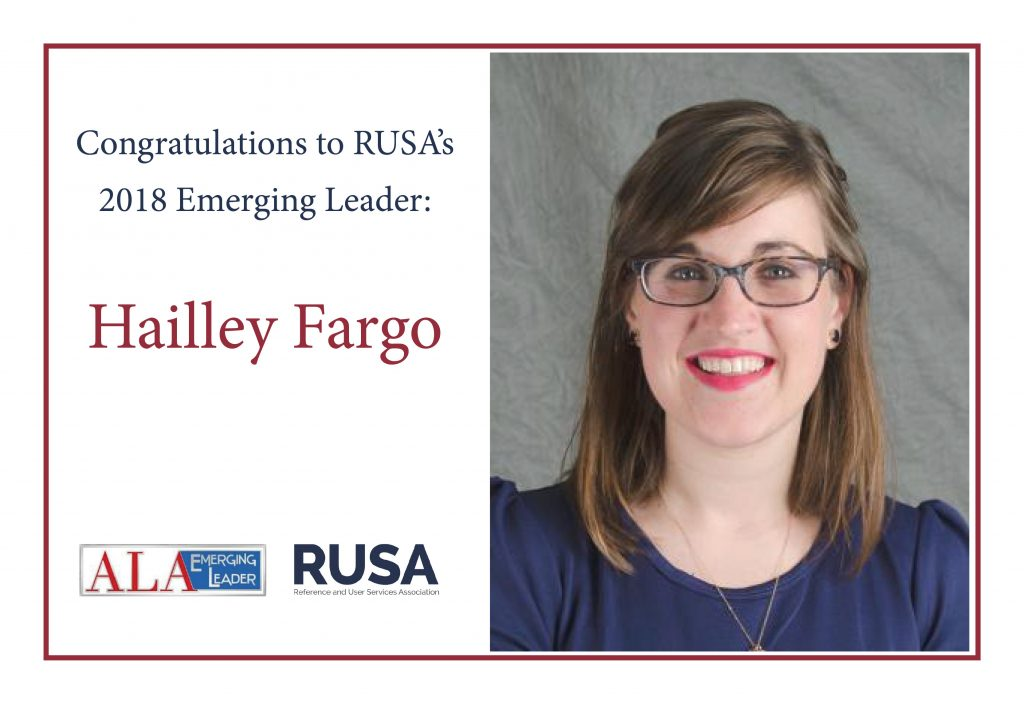 2018 Emerging Leader Hailley Fargo