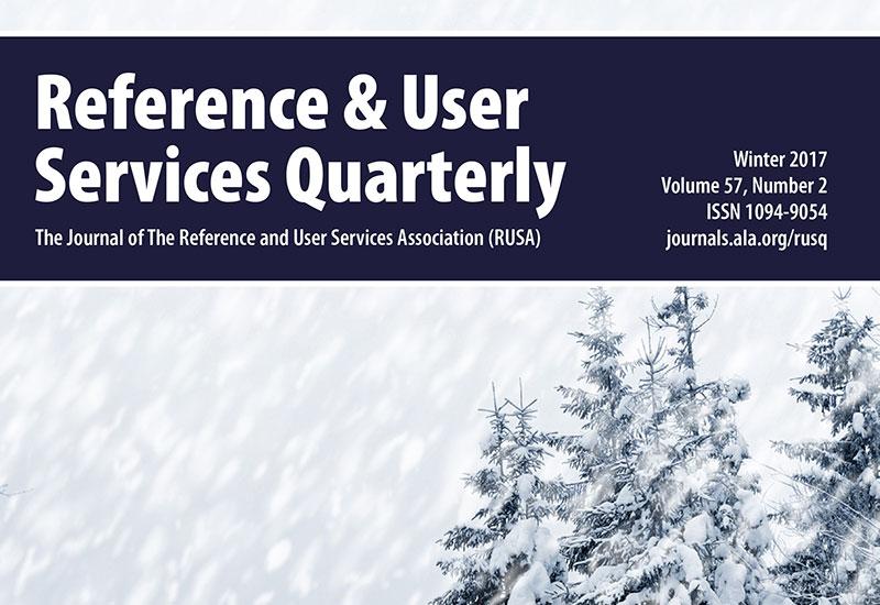RUSQ Winter Edition 2017 Cover