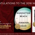 2018 Andrew Carnegie Medal Winners