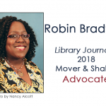 Robin Bradford 2018 Library Journal Mover Shaker Advocate