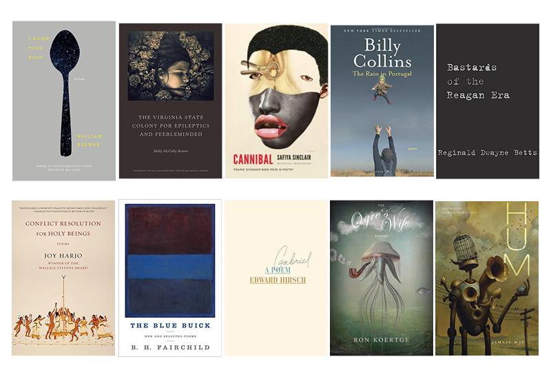 5 years of notable book poetry selections