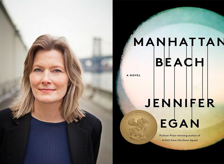 Jennifer Egan author of Manhattan Beach