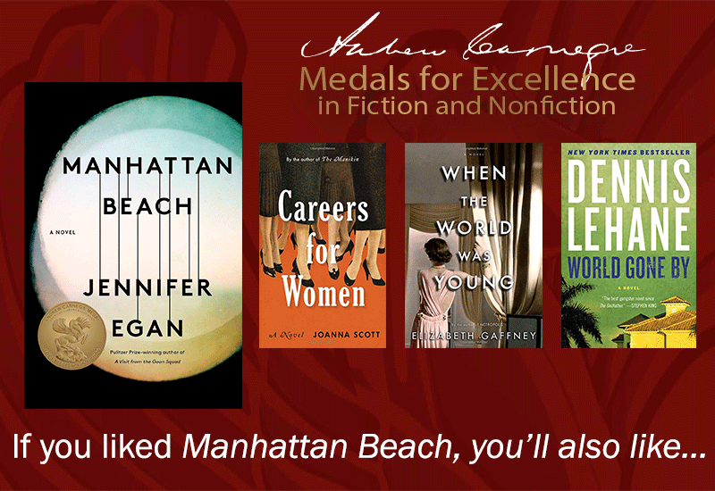 If you liked Manhattan Beach, you'll also like...